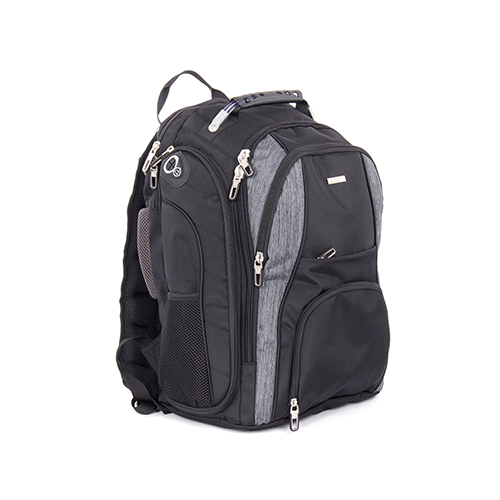 Bugatti Matt Backpack - Grey Black ec4f084b6642a